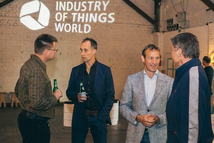 Ipari IoT Networking - IOTW konferencia, Berlin, 2017