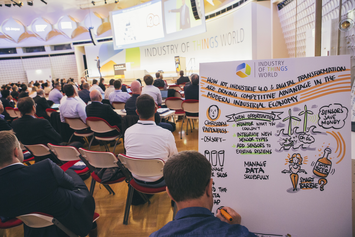 Ipari IOT konferencia - IOTW, Berlin, 2017